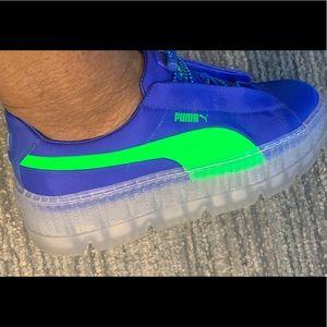 Puma Shoes   Rihana Fenty Royal Blue